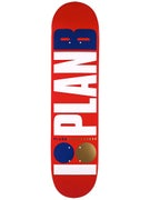 Plan B Team OG Red Deck 7.5 x 31.25