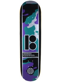 Plan B Pudwill Camo Black Ice Deck 8.25 x 31.95