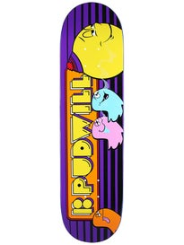 Plan B Pudwill Fiends Black Ice Deck 8.0 x 31.75