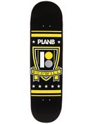 Plan B Pudwill Shield Blk Ice Deck 8.25 x 31.75