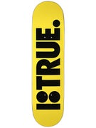 Plan B Team True Yellow Deck 8.0 x 31.75