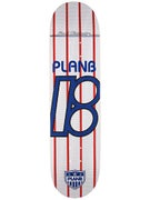 Plan B Team United White Deck 8.0 x 31.75