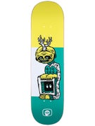 Program Space Is The Place Teal/Ylw Deck  8.25 x 32.125