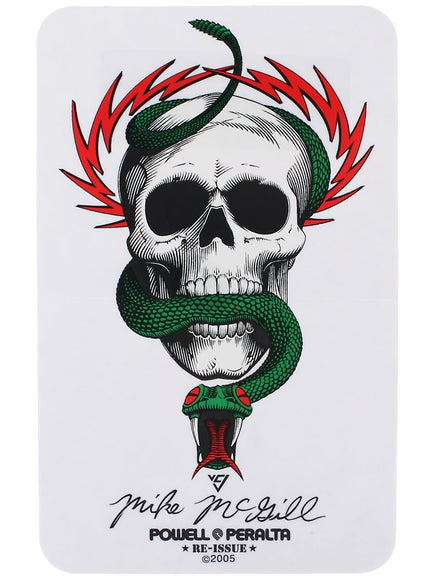 Powell Peralta McGill Skull & Snake Sticker