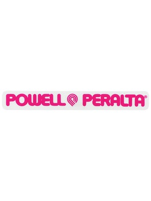 Powell Peralta Strip Sticker  Pink