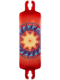 Pantheon Longboards Trip 8 Ply Red Deck  9 x 32.3