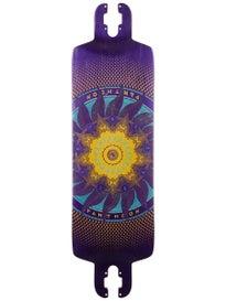 Pantheon Longboards Trip Purple Deck  9 x 32.3