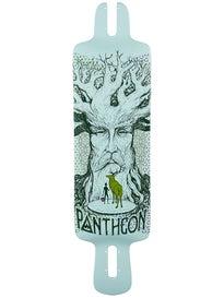 Pantheon Longboards Wanderlust Mint SK Deck 9.375 x 34