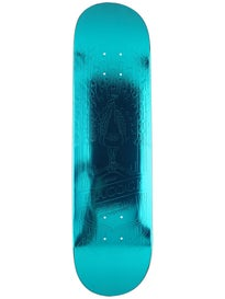 Primitive Brian Peacock Teal Foil Deck 8.0 x 31.625