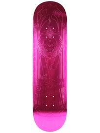 Primitive Salabanzi Lion Pink Foil Deck 8.25 x 31.75