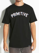 Primitive Block Type Stars T-Shirt