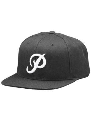 Primitive Classic P Snapback Hat Black