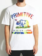 Primitive Cultivated Tie Dye Fill T-Shirt
