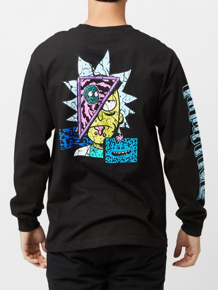 cbe94a528b Primitive x Rick & Morty Rick Destructed L/S T-Shirt