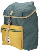 Poler Field Backpack Super Mustard/Dark Forest