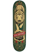 Primitive Salabanzi Lion Green Deck 7.75 x 31.25