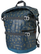 Poler High & Dry Rolltop 40L Backpack Mushy Trees