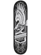 Primitive Rodriguez Eagle Metallic Silver Deck 8.0 x 32