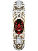 Primitive Rodriguez Luchador White Deck 7.8 x 31.5