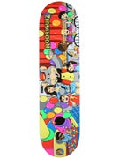 Primitive Rodriguez Pizza Party Deck 8.0 x 32