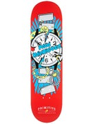 Primitive Rodriguez Times Up Red Deck 8.25 x 32