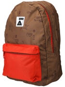 Poler Rambler Backpack Campalogue Bison/Bright Red
