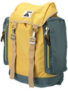 Poler Rucksack Backpack Super Mustard/Dark Forest