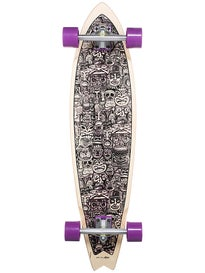 Palisades False Idols Purple Longboard 9.375 x 38