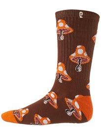 Psockadelic Mushroom 2 Socks