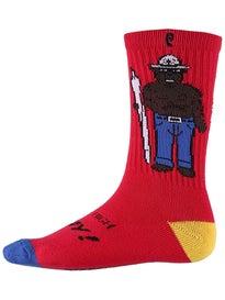 Psockadelic Smokey Socks