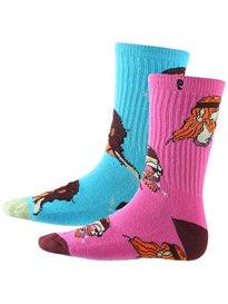 Psockadelic Trippin Socks