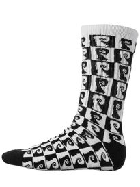 Psockadelic Checker Socks
