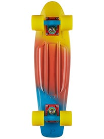Penny 22 Canary Fade Complete Skateboard