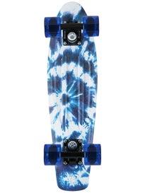 Penny 22 Indigo Tie Dye Complete Skateboard