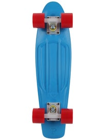 Penny 22 Cyan/White/Red Complete Skateboard