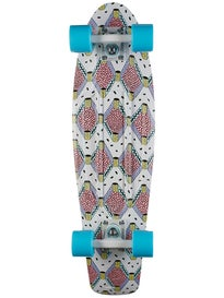 Penny Nickel 27 Buffy Pink Complete Skateboard