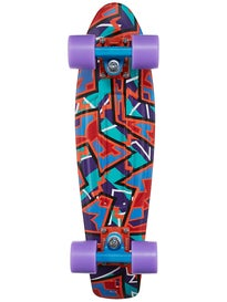 Penny Nickel 27 Spike Orange Complete Skateboard