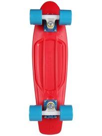 Penny 22 Red/Cyan Complete Skateboard