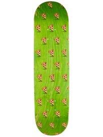 Pizza Emoji Pattern Asst. Stains Deck 8.0 x 31.25