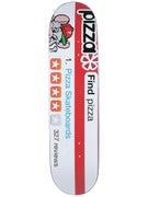 Pizza Review Deck  8.125 x 31.25
