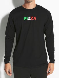Pizza Tri Color Logo Longsleeve T-Shirt