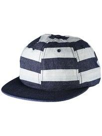 Quasi Bars 6 Panel Unstructured Hat