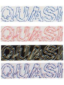 Quasi Scribe Sticker Assorted Colors