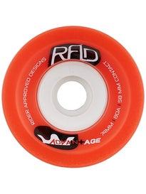 RAD Advantage Longboard Wheel 74mm