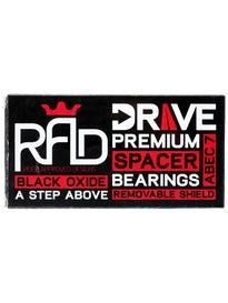 RAD Drive Full Spacer Longboard Bearings