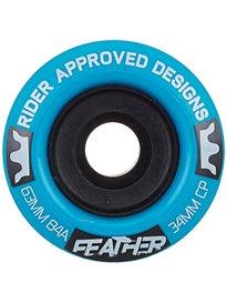 RAD Feather Longboard Wheel 63mm