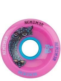 Remember Hoot 70mm Pink Slide Wheels