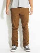 RVCA All Time Chino Pants  Bark