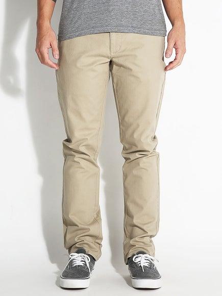 RVCA All Time Chino Pants Khaki
