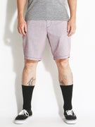RVCA Backbone Shorts  Raisin